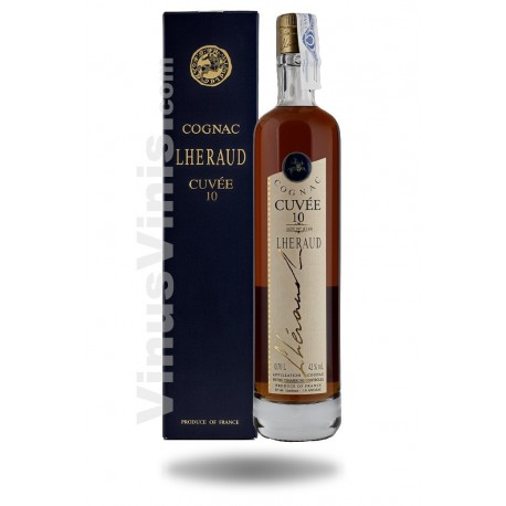 Cognac Lheraud Cuvee 10 ans