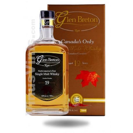 Whisky Glen Breton 19 ans
