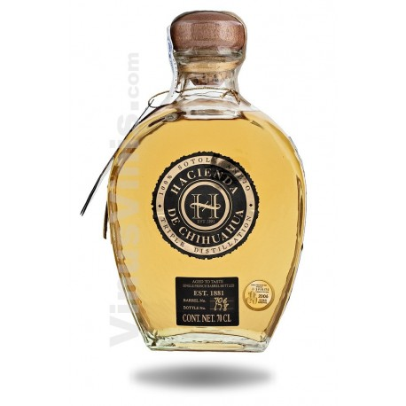 Tequila Hacienda de Chihuahua Sotol Añejo