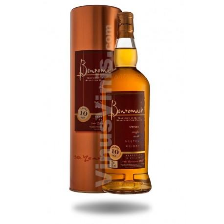 Whisky Benromach 10 ans