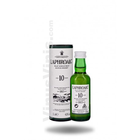 Whisky Laphroaig 10 años (5cl)