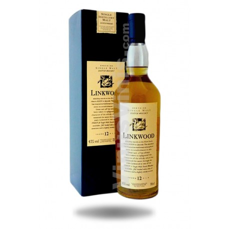 Whisky Linkwood 12 ans Flora and Fauna