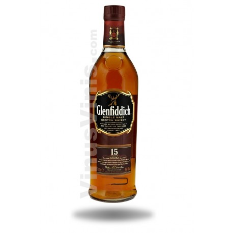 Whisky Glenfiddich 15 ans Solera Reserve