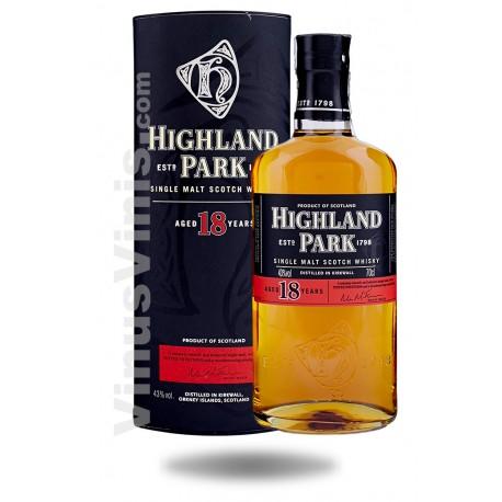 Whisky Highland Park 18 ans