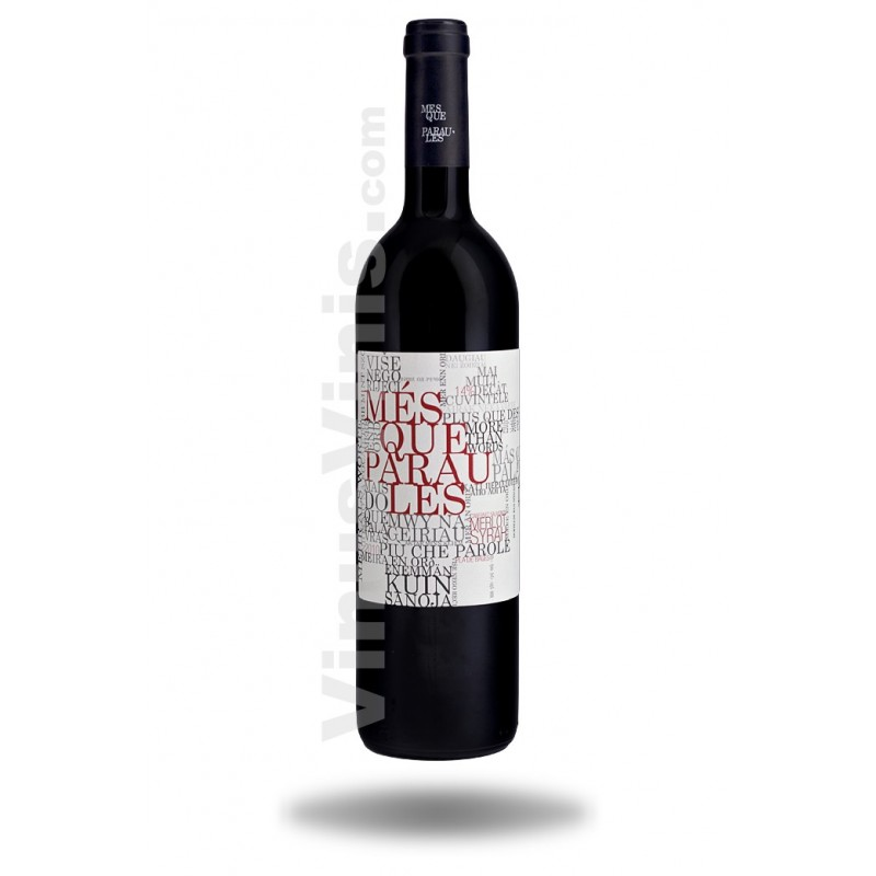 Buy spanish wine m s que paraules 2015 in vinus vinis - Mes que paraules tinto ...