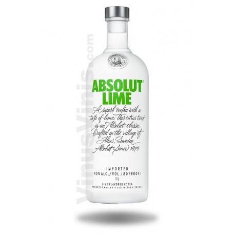 Vodka Absolut Lime (1L)