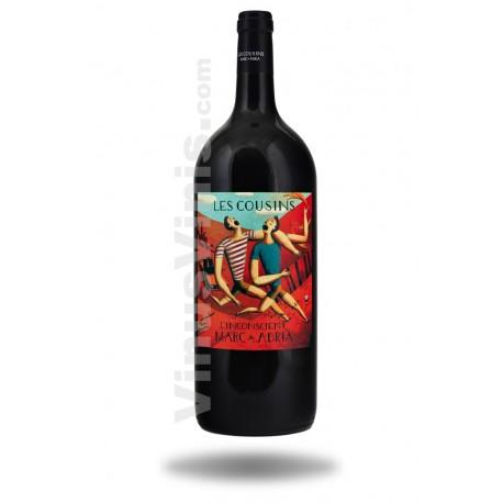 Vin Les Cousins L'Inconscient 2016 (magnum)