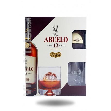 Rhum Abuelo 12 ans (pack cadeau)