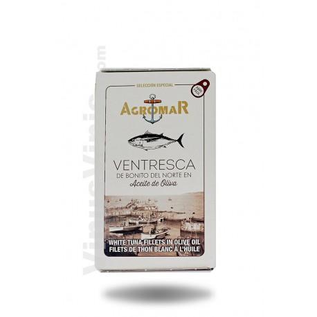 Agromar Filets de Thon Blanc à l'Huile d'Olive Ov-120