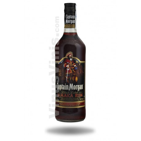 Rhum Captain Morgan Black Label
