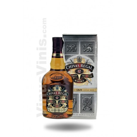 Whisky Chivas Regal 12 años (35cl)Whisky Chivas Regal 12 ans (35cl)