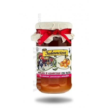 Jalancina Mermelade de Abricot avec du Fructose