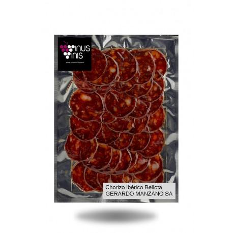 Chorizo Ibérique Bellota en Tranches Gerardo Manzano 250 g.