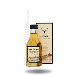 Whisky The Dalmore 12 ans (5cl)