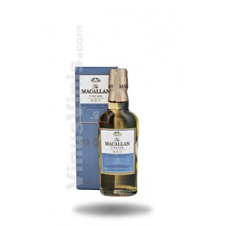 Whisky The Macallan 12 ans Fine Oak (5cl)