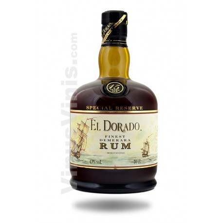 Rum El Dorado Reserva 15 Years Old