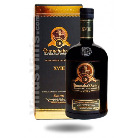 Whisky Bunnahabhain 18 Years Old