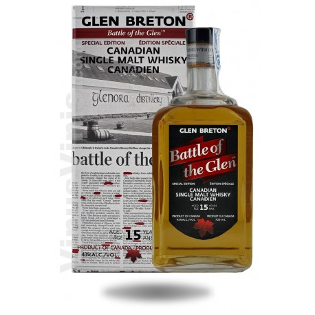 Whisky Glen Breton Battle of Glen jahre Special Edition