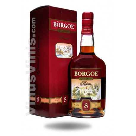 Rum Borgoe 8 Years Old Grand Reserve