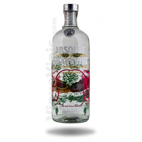 Wodka Absolut Grapevine