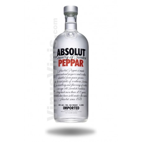 Wodka Absolut Peppar
