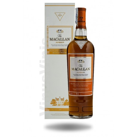 Whisky The Macallan Amber - 1824 Series