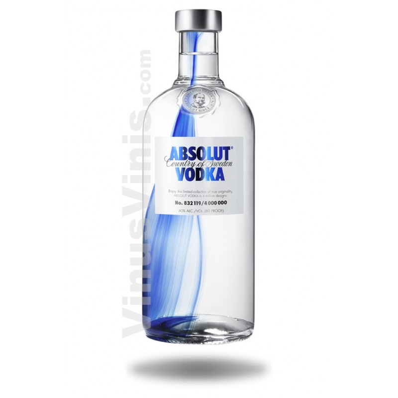Absolut originality limited edition alcoholic beverages.