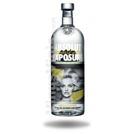 Vodka Absolut Exposure (1L)