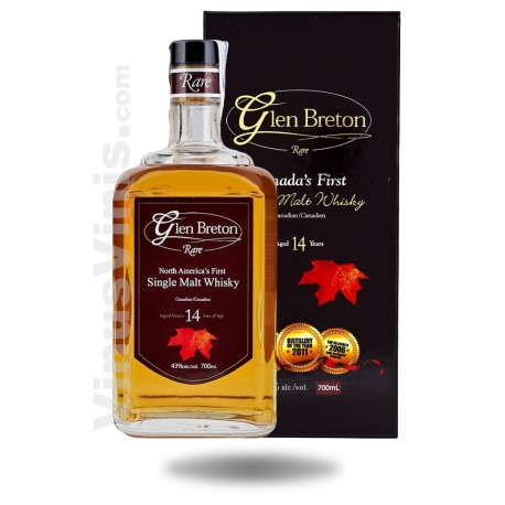 Whisky Glen Breton 14 Years Old