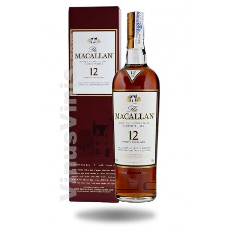Whisky The Macallan 12 jahre Sherry Oak