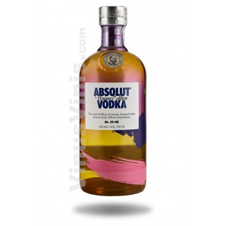 Vodka Absolut Unique Edition