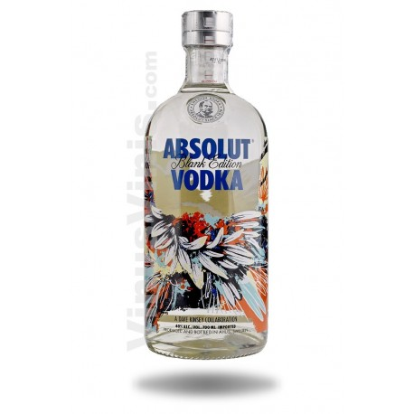 Wodka Absolut Blank Edition Dave Kinsey
