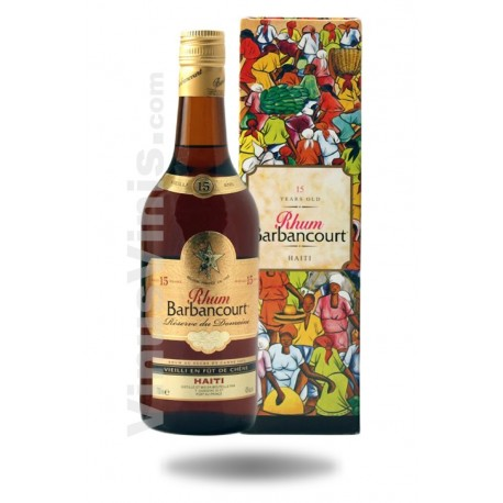 Rum Barbancourt Estate Reserve 15 jahre