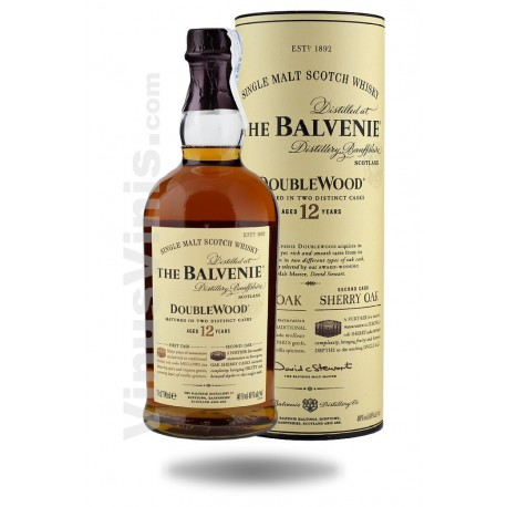 Whisky The Balvenie 12 Years Old Double Wood