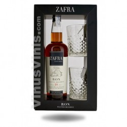 Rum Zafra 21 years (gift pack)