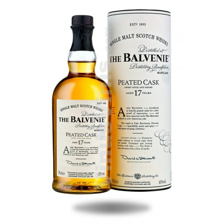 Whisky The Balvenie 17 years Peated Cask