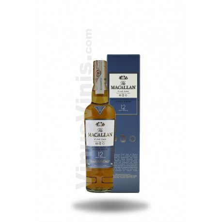 Whisky The Macallan 12 años Fine Oak
