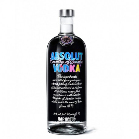 Vodka Absolut Andy Warhol Edition (1L)