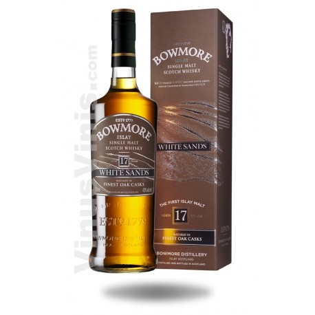 Whisky Bowmore 17 jahre White Sands