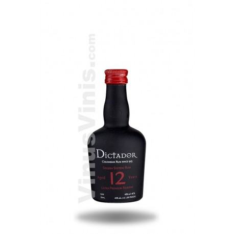 Rum Dictador 12 Years Old