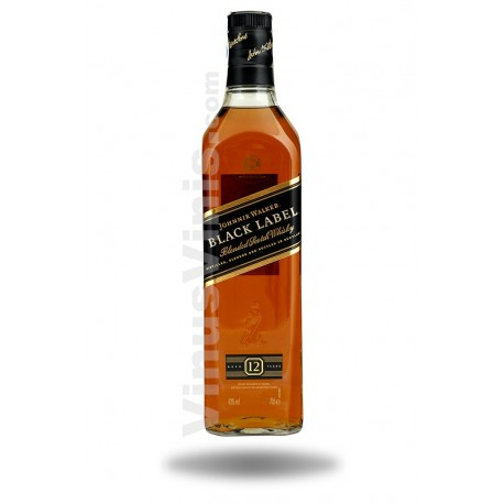 Whisky Johnnie Walker Black Label 12 años