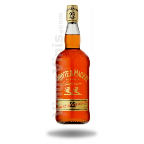 Whisky Whyte & Mackay 22 ans