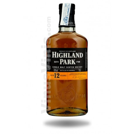 Whisky Highland Park 12 Years Old