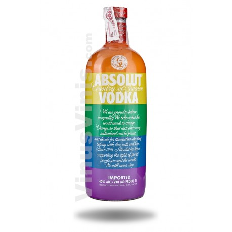 Wodka Absolut Colours Limited Edition (1L)