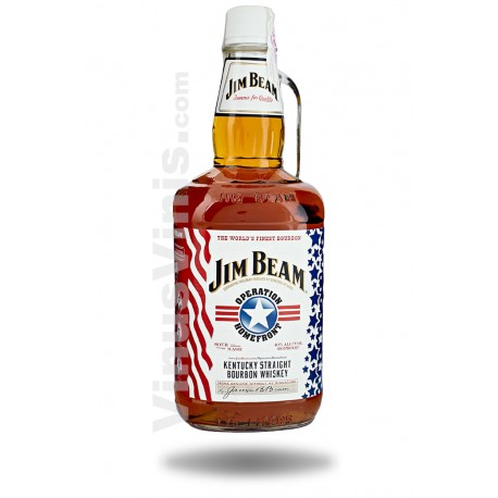 Whiskey Jim Beam Operation Homefront (1.75L)