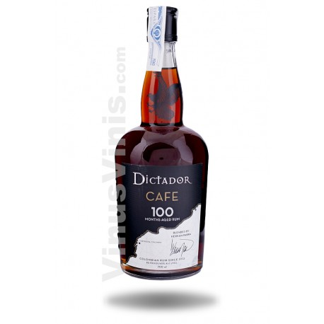 Rhum Dictador 100 Cafe