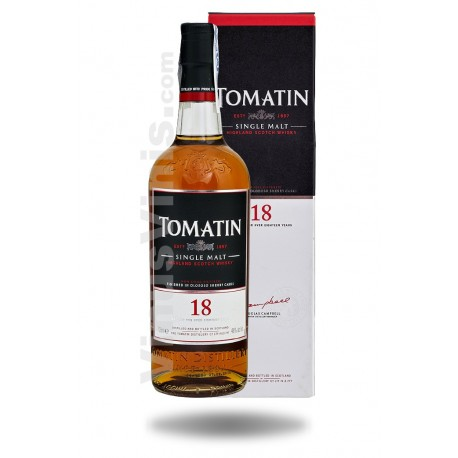 Whisky Tomatin 18 Years Old