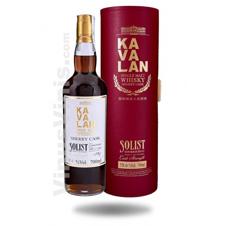 Whisky Kavalan Solist Sherry Cask Strength