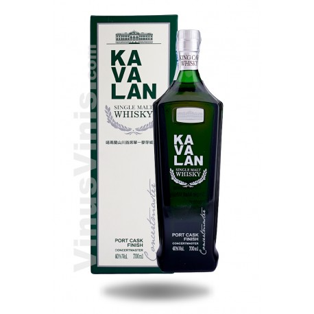 Whisky Kavalan Concertmaster Port Cask Finish