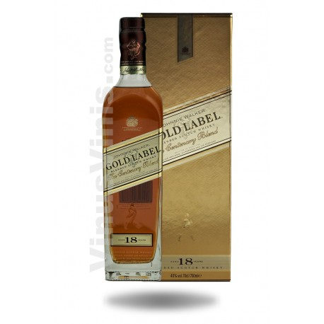 Whisky Johnnie Walker Gold Label 18 años
